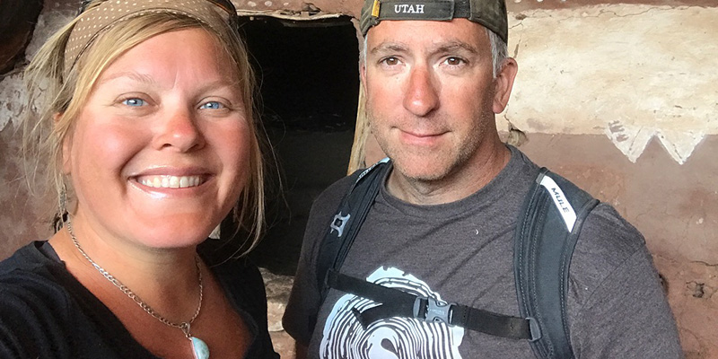 Crew Adventures - Kate Giebink and Cyrus Dietz - Anasazi Ruins - Moonhouse - Utah