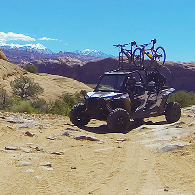 Crew Adventures - Kate Giebink and Cyrus Dietz - 4 Wheeling and Mountain Bikes