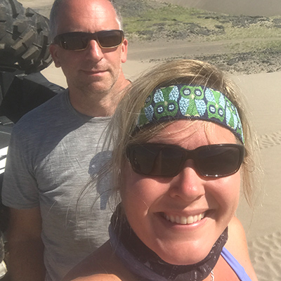 Crew Adventures - Kate Giebink and Cyrus Dietz - Wheeling the Idaho Dunes
