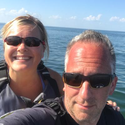 Crew Adventures - Kate Giebink and Cyrus Dietz - Jet Ski fun
