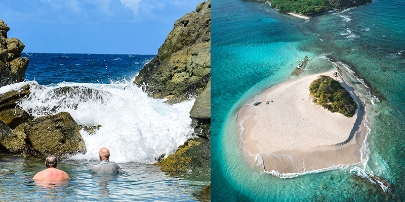 BVI Itineraries BubblyPool Jost Van Dyke and Sandy Spit