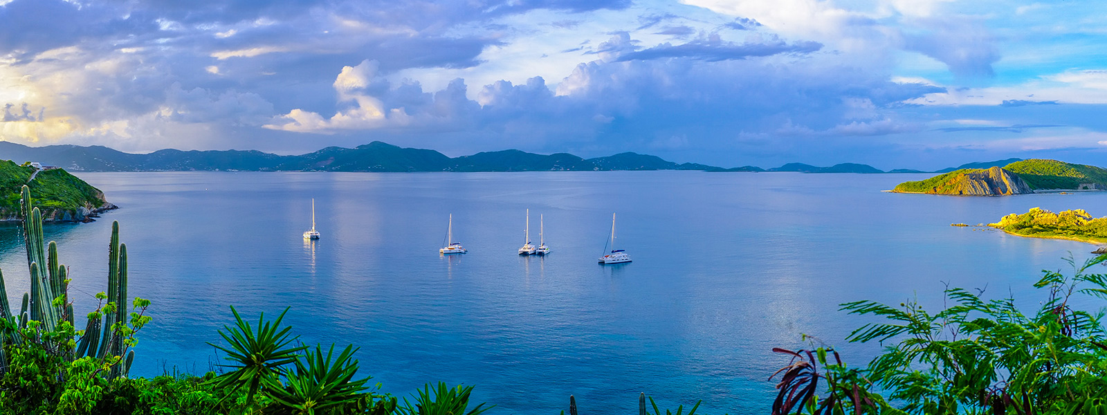 BVI Itineraries Peter Island - Deadman's Bay