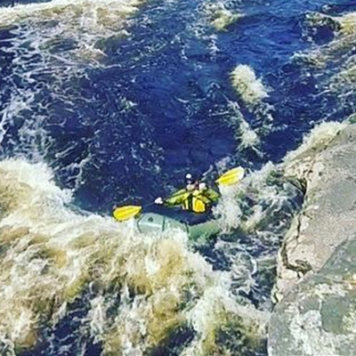 Crew Adventures - Cyrus Dietz - Paddling The Kettle