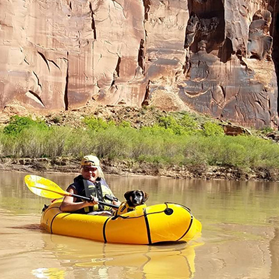 Crew Adventures - Kate Giebink - Paddling the Colorado in Utah