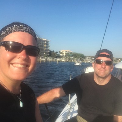 Crew Adventures - Kate Giebink and Cyrus Dietz - Sailing Destin, Florida