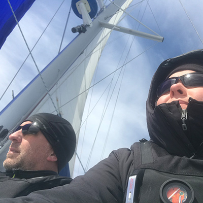 Crew Adventures - Kate Giebink and Cyrus Dietz - Sailing The Gulf