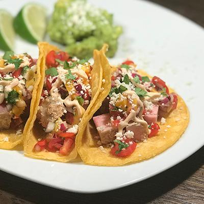 CruiseNautic Ahi Tacos