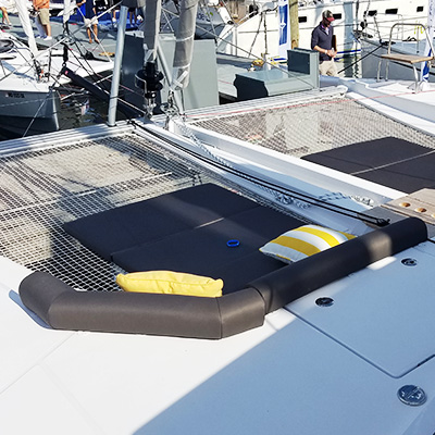 Annapolis Boat Show Trampoline Loungers