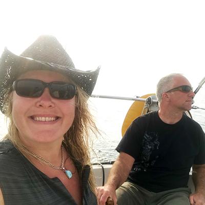 Kate and Cyrus Sailing Insanity