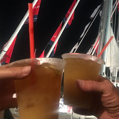 Annapolis Boat Show - Painkillers Toast