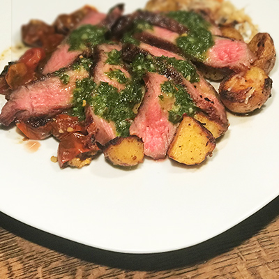CruiseNautic Menu Chimichurri Tenderloin