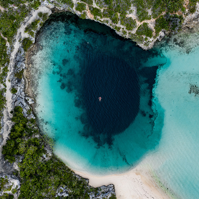 Dean's Blue Hole - Long Island - Bahamas