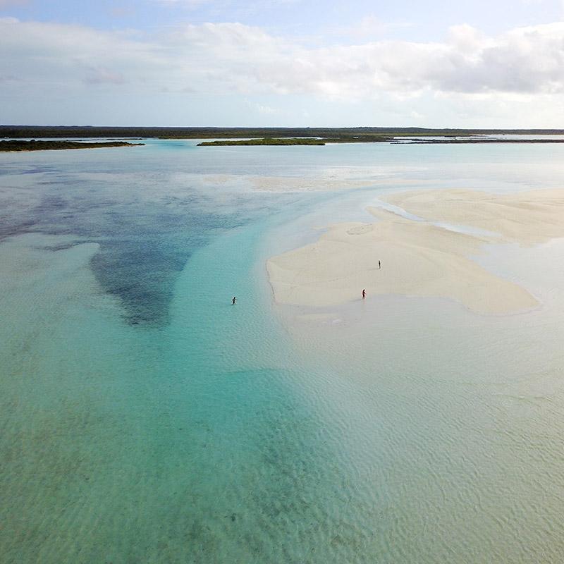 Low tide - Exuma