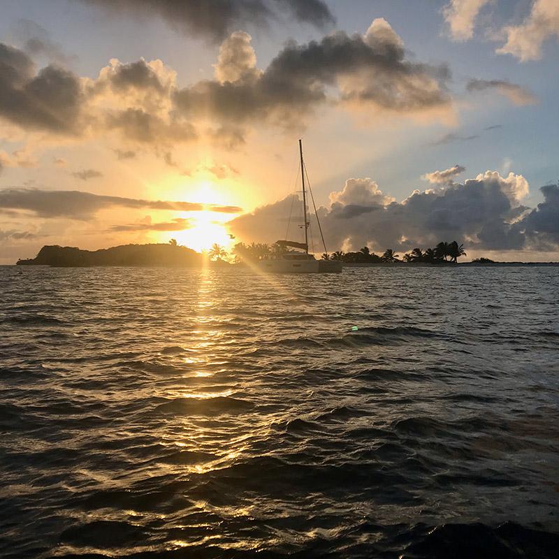 CruiseNautic at Sandy Island, Carriacou, The Grenadines