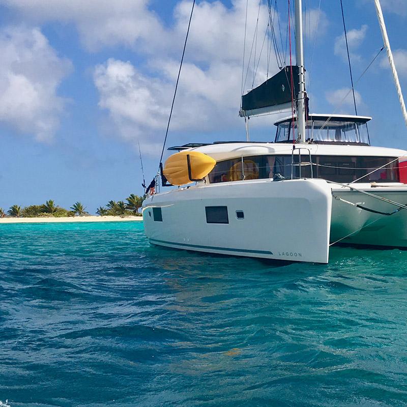 CruiseNautic at Sandy Island, Carriacou - The Grenadines