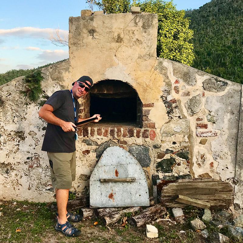 Annaberg Sugar Plantation, Stone Oven - St John, USVI