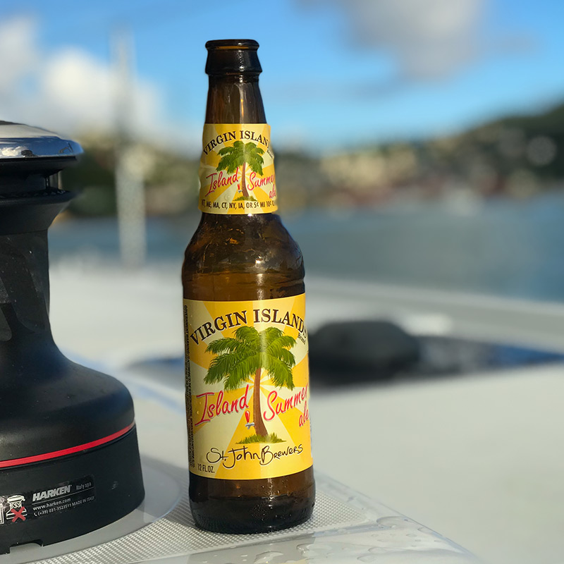 Afloat in Charlotte Amalie sipping on local brew - St John Brewers